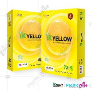 A3 Paper/IK Yellow/Indah Kiat/A3 Kertas/Copier Paper