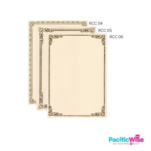 Certificate Paper W/O Common Seal 160GSM (100'S)