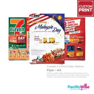 Customized Printing Flyer (A4)