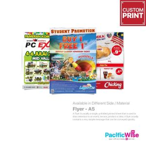 Customized Printing Flyer (A5)