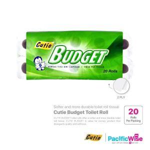 Cutie Budget Toilet Roll (20 Roll)