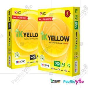 A4 Paper/IK Yellow/Indah Kiat/A4 Kertas/Copier Paper