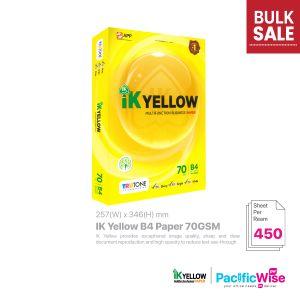 Indah Kiat IK Yellow B4 Paper 70GSM (450'S)