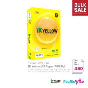 Indah Kiat IK Yellow A3 Paper 70GSM (450'S)