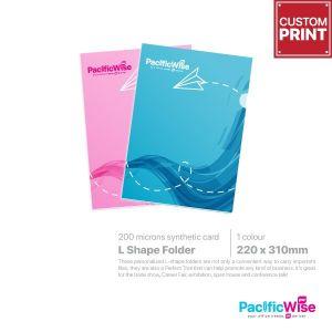 Customized Printing L-Shape Folder