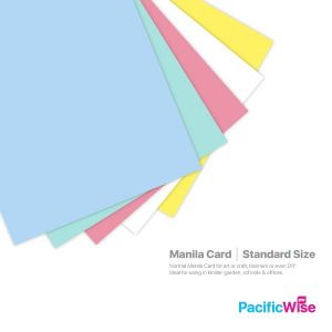 Manila Card Standard Size