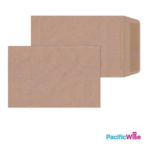 "Brown Manila Envelope (Non-Window) 6"" x 4"""
