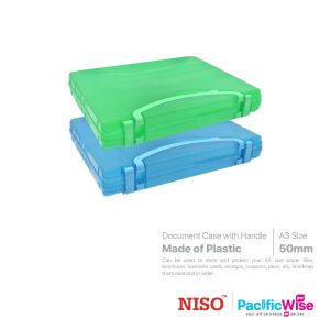 Niso Document Case with Handle A3 Size