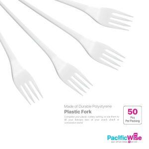 Plastic Fork (50'S)