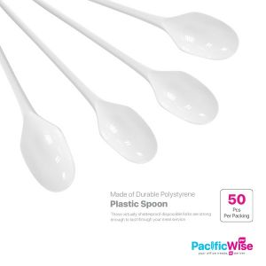 Plastic Spoon (50'S)