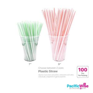 Plastic Straw (100'S)