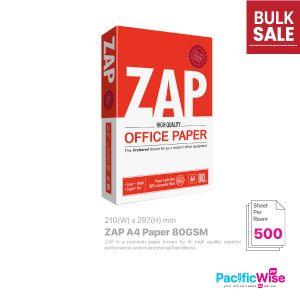 ZAP A4 Paper 80GSM (500'S)